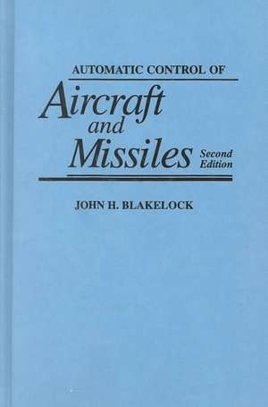 Automatic Control of Aircraft and Missiles imagine