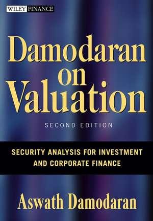 Damodaran on Valuation: Security Analysis for Investment and Corporate Finance de Aswath Damodaran