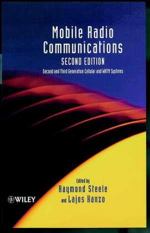 Mobile Radio Communications de Raymond Steele