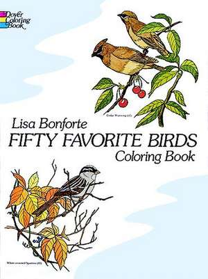 Fifty Favorite Birds Coloring Book