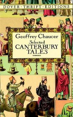 Selected Canterbury Tales de Geoffrey Chaucer