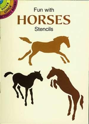 Fun with Horses Stencils imagine