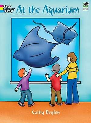 At the Aquarium de Cathy Beylon