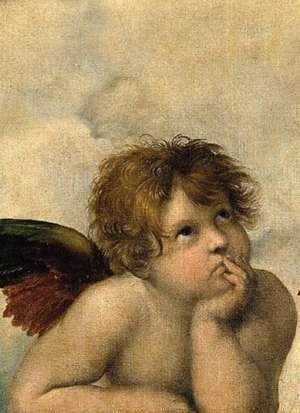Cherubs Notebook de Raphael