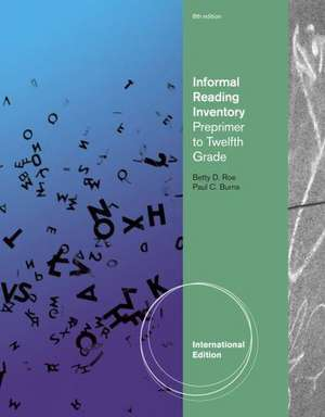 Informal Reading Inventory imagine