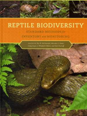 Reptile Biodiversity – Standard Methods for Inventory and Monitoring imagine