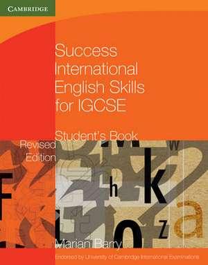 Success International English Skills for IGCSE Student's Book
