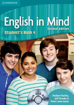 English in Mind Level 4 Student's Book with DVD-ROM de Herbert Puchta