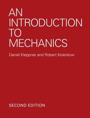 An Introduction to Mechanics de Daniel Kleppner