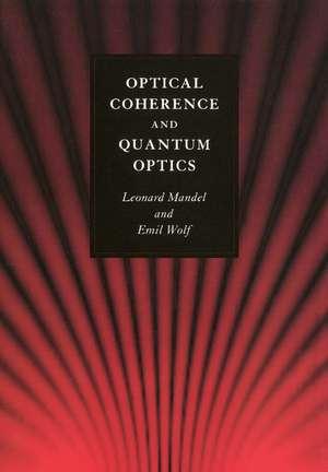 Optical Coherence and Quantum Optics imagine