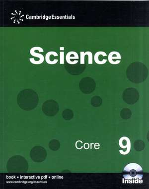 Cambridge Essentials Science Core 9 with CD-ROM