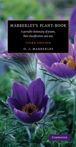 Mabberley's Plant-book imagine