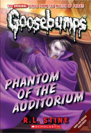 Phantom of the Auditorium de R. L. Stine
