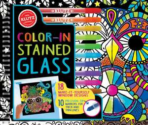 Color in Stained Glass de Klutz