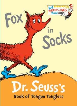 Fox in Socks, Board Book de  Dr. Seuss