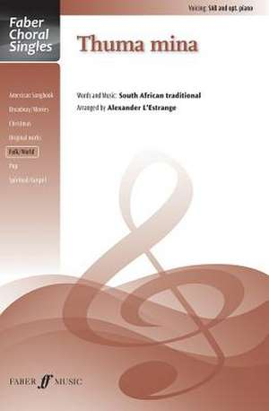 Thuma Mina de Alfred Publishing