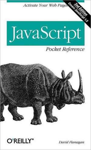 JavaScript Pocket Reference de David Flanagan