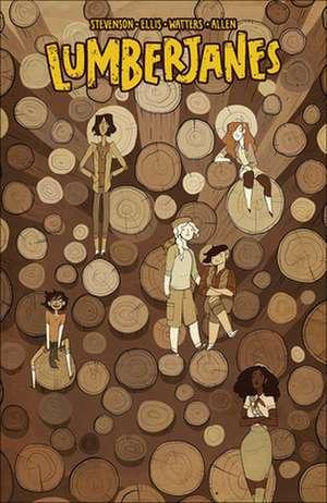 Lumberjanes 4 de Shannon Watters