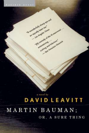 Martin Bauman: or, A Sure Thing de David Leavitt