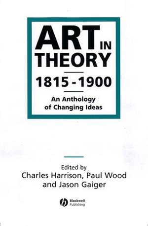Art in Theory 1815–1900