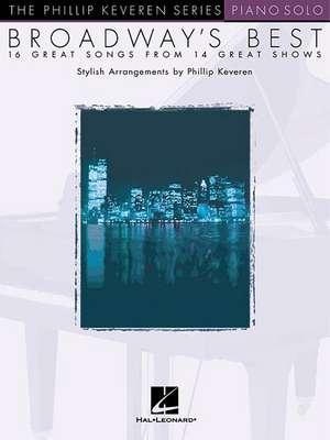 Broadway's Best: Arr. Phillip Keveren the Phillip Keveren Series Piano Solo de  Hal Leonard Corp