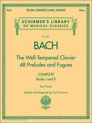 The Well-Tempered Clavier, Complete: Schirmer Library of Classics Volume 2057 de Johann Sebastian Bach