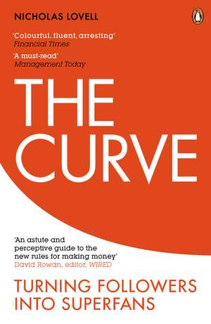 The Curve: Turning Followers into Superfans de Nicholas Lovell