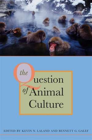 The Question of Animal Culture imagine