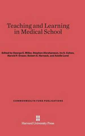 Teaching and Learning in Medical School