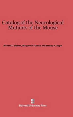 Catalog of the Neurological Mutants of the Mouse