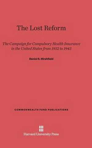 The Lost Reform