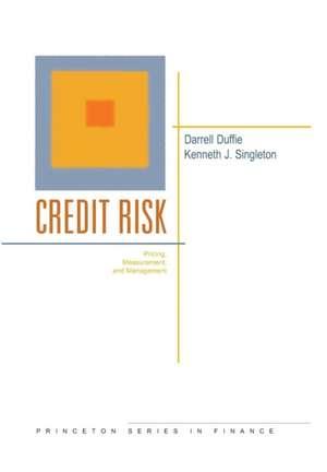 Credit Risk – Pricing, Measurement, and Management imagine