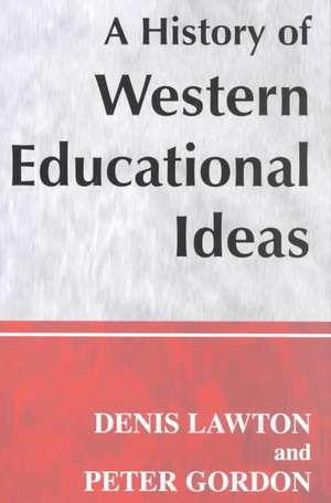 A History of Western Educational Ideas imagine