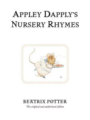Appley Dapply's Nursery Rhymes de Beatrix Potter