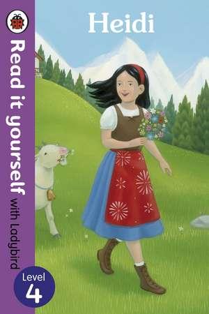 Heidi - Read it yourself with Ladybird: Level 4 de Tamsin Hinrichsen
