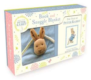 Peter Rabbit Book and Snuggle Blanket