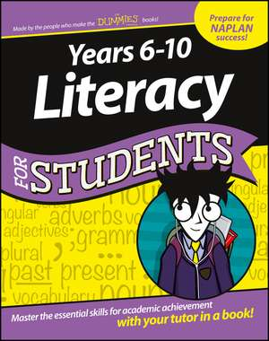 Years 6–10 Literacy For Students