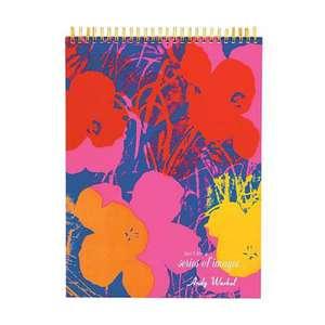 Andy Warhol Flowers Sketchbook de Andy Warhol