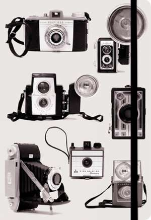Vintage Cameras Essential Everyday Journal de Debbra Obertanec