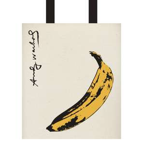 Warhol Banana Tote Bag de Galison