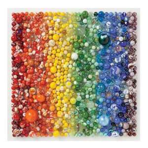 Puzzle 500 Piese Rainbow Marbles Galison