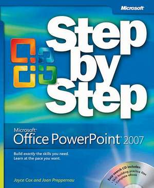 Microsoft Office Powerpoint 2007 Step By Step [wit