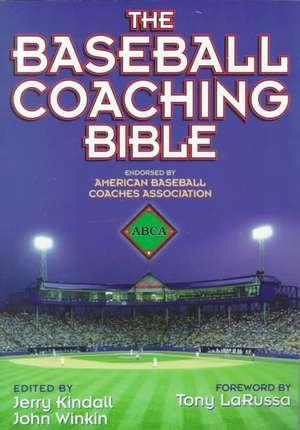 The Baseball Coaching Bible imagine