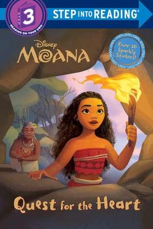 Quest for the Heart (Disney Moana) de Rh Disney
