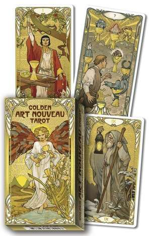 Golden Art Nouveau Tarot de Giulia F. Massaglia