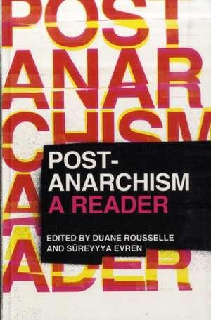 Post-Anarchism: A Reader imagine