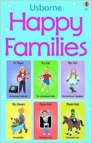 Happy Families Card Game de Jo Litchfield