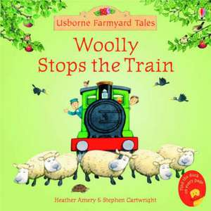Woolly Stops the Train de Heather Amery
