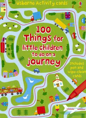 Usborne Activity Cards. 100 Things for Little Children to Do on a Journey de Catriona Clarke