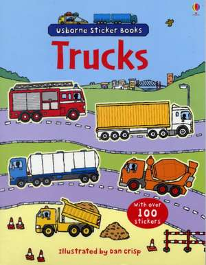 Trucks Sticker Book imagine